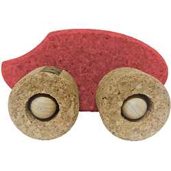 Spielzeugauto Kork Ente, rot
