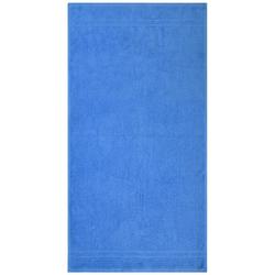 Dyckhoff Handtuch ''Kristall'' Kobalt - Blau 50 x 100 cm