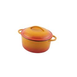 Fisko Profi-Gussbräter 2,6 Liter orange