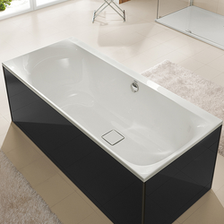 Hoesch Thasos Rechteck-Badewanne, Einbau 180 x 80 x 49 cm