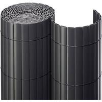NOOR Sichtschutzmatte PVC 200 cm anthrazit