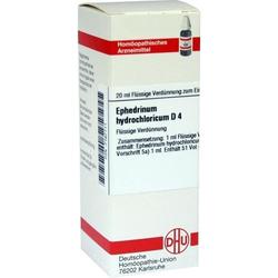 EPHEDRINUM HYDROCHLO D 4