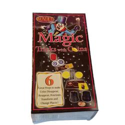 magic-man1001 Zauberkasten Zaubertricks mit Münzen - Münztricks - Trick mit Münze