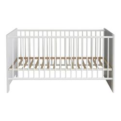 ebuy24 Kinderbett Petrol Kinderbett 70x140 cm, weiss und grau.