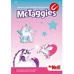 McNeill McTaggies-Set Einhorn
