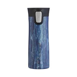 CONTIGO Kinderbecher Thermobecher PINNACLE COUTURE Sandstone, 420 ml blau