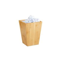 relaxdays Papierkorb Papierkorb Bambus