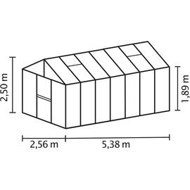 Vitavia Zeus 13800 Alu HKP 10 mm 13,8 m²