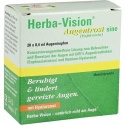 HERBA-VISION Augentrost sine Augentropfen 8 ml