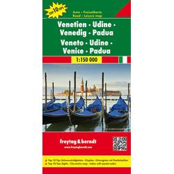 Venetien - Udine - Venedig - Padua 1 : 150 000