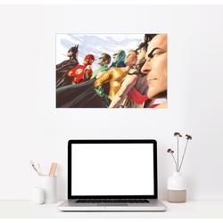 Posterlounge Wandbild, The Justice League 90 cm x 60 cm