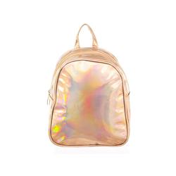CEPEWA Freizeitrucksack i-Brands trendiger Damen Mini-Rucksack Metallic goldfarben