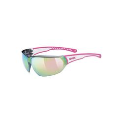 Uvex Sonnenbrille Sonnenbrille sportstyle 204 pink white/mir.pink