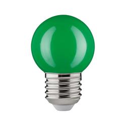 LED Tropfen 2W E27 Grün schlagfest