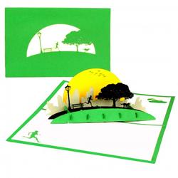 Colognecards Pop-Up Karte Jogger