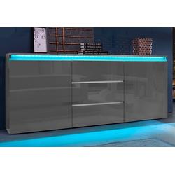 Tecnos Sideboard Magic, Breite 180 cm grau