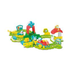 Clementoni® Spielzeug-Eisenbahn Die Farm-Eisenbahn