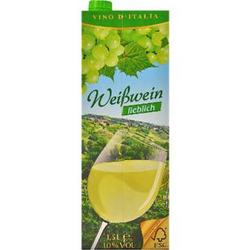 Italienischer Weißwein lieblich 9,5 % vol 1,5 Liter