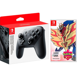 Pokémon Schild Nintendo Switch, inkl. Switch Pro Controller