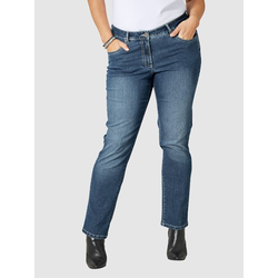 Slim Fit Jeans Emma Dollywood Blau