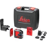 Leica Lino L2P5 - Kreuz-/ Punktlinienlaser, rot, Laserklasse 2, inkl. Akku