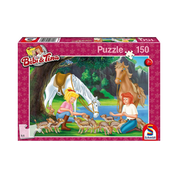 Schmidt Spiele Puzzle Puzzle Bibi & Tina, Am Steinbruch, 150 Teile, Puzzleteile