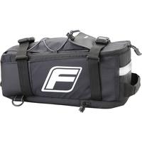 Fischer Gepäckträgertasche 2in1 schwarz