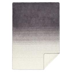 Wolldecke Lina Bio/GOTS 150 x 200 cm, yogabox, sehr weich und kuschelig grau
