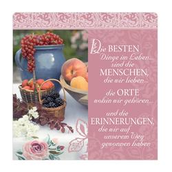 """H&H Romantisches Geschirrtuch """"Die besten Dinge..."""" Handtuch"""