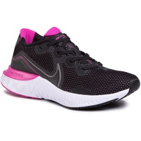 Nike Renew Run W black/white/fire pink/metallic dark grey 40,5