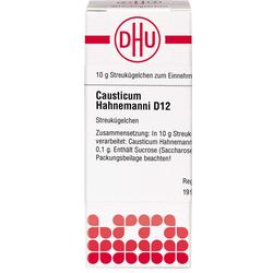 CAUSTICUM HAHNEMANNI D 12 Globuli 10 g
