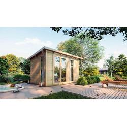 Gartentiger Gartenhaus Karmnik 28