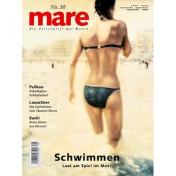 mare No. 38. Schwimmen als Buch von