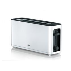 Braun Toaster Braun HT 3110WH Langschlitztoaster weiß