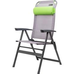 Portal KEN Camping Klappsessel - grau/grün
