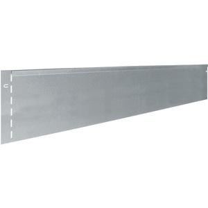 bellissa 15 Stück RASENKANTE BIEGBAR Metall verzinkt 118 x 13 cm (Gesamtlänge 17m) mit Patent-Verbindung Mähkante Beeteinfassung Wegbegrenzung Dekowelt