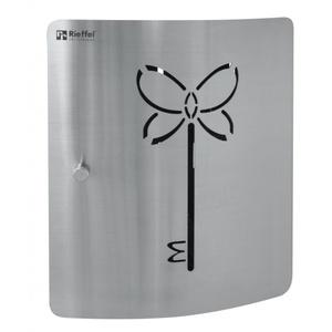 Rieffel DSB-BUTTERFLY  Stahl  Schwarz  Stahl  10 Haken  Magnetic  215 x 70 x 240 mm