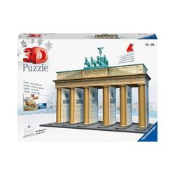 Ravensburger 3D-Puzzle 3D-Puzzle, 30x10x27 cm, 324 Teile, Brandenburger, Puzzleteile