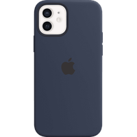 Apple iPhone 12 | 12 Pro Silikon Case mit MagSafe dunkelmarine