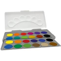 Schuldeckfarbkasten, 24 Farben