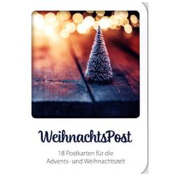 WeihnachtsPost - Postkartenset
