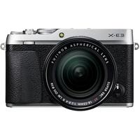 Fujifilm X-E3 silber + XF 18-55mm R LM OIS