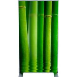 Trennwand HxBxT: 180x98x46m Dekor Bambus