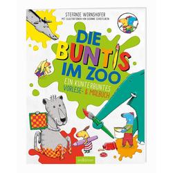 Die Buntis im Zoo als Buch von Stefanie Wirnshofer