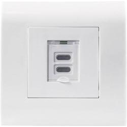 Intellinet 772235 Unterputz-Steckdose mit USB Weiß