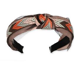 halsüberkopf Accessoires Haarband Haarband Ethno, modisches Haarband natur