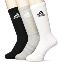 adidas Cushioned Crew 3er Pack medium grey heater/medium grey heater/black 37-39