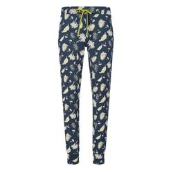 Skiny Pyjamahose Skiny Damen Pyjama Hose mit Palmen 38