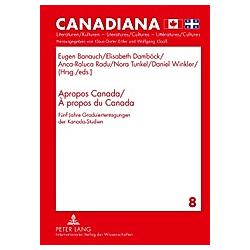 Apropos Canada / À propos du Canada - Buch
