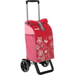 Gimi Einkaufstrolley Rolling Rot 154682